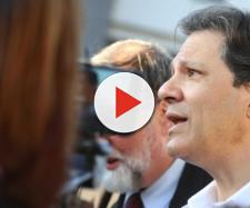 Candidato do PT, Fernando Haddad