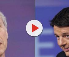 Marco Travaglio e Matteo Renzi