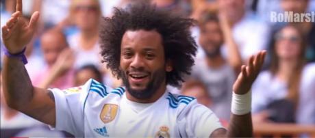 Marcelo, jogador do Real Madrid [Imagem via YouTube]