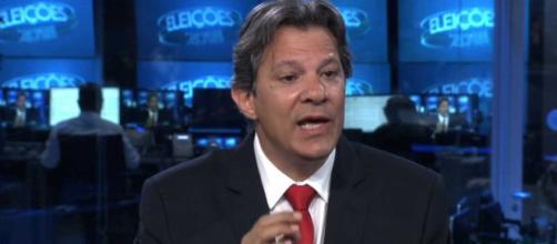 Fernando Haddad (PT) se manifesta sobre papel das Forças Armadas na eleição presidencial. (foto reprodução).