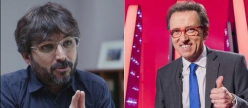 Jordi Évole y Jordi Hurtado. / Atresmedia-RTVE