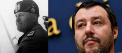 Matteo Salvini paragonato a Benito Mussolini dalla stampa inglese