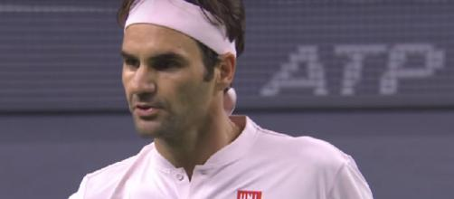 Roger Federer is the first seed of the ATP 500 event in Basel, Switzerland. Photo: screencap via Tennis TV/ YouTube