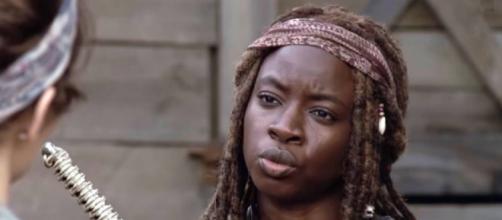 The Walking Dead - Michonne (Image: AMC/Youtube)