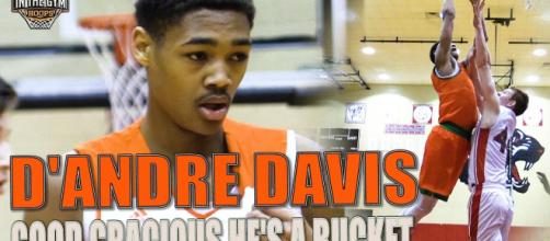 What you should know about D'Andre Davis, the newest Nebraska basketball commit[Image via Inthegymhoops/YouTube]