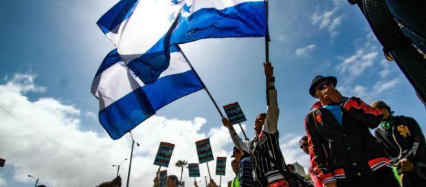 EEUU en alarma por caravana de migrantes de Honduras.