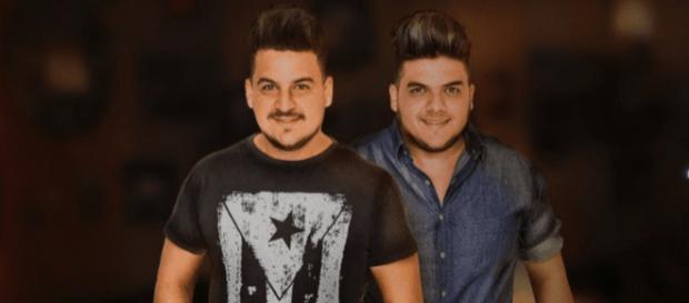 Fábio & Guilherme morrem em acidente de carro. (foto reprodução).