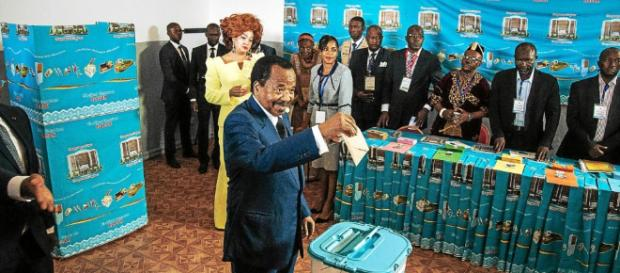 Paul Biya a été réélu à la majorité