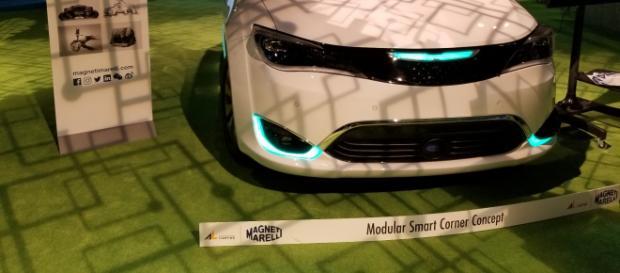 Tecnologia Magneti Marelli applicata a una vettura Fca- magnetimarelli.com