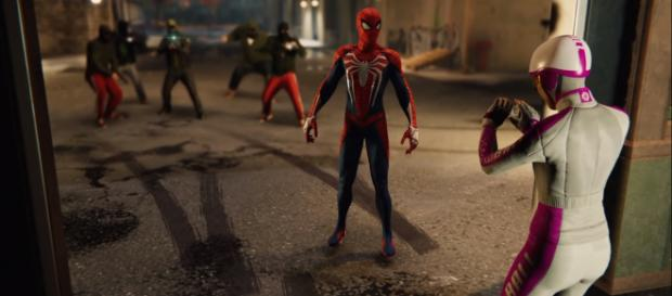'The Heist' DLC for 'Spider-Man' will feature new Screwball side missions [Image Credit: WOOF Bandits/YouTube screencap]