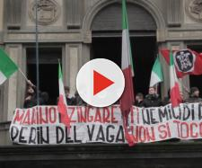 Casapound a Roma (Fonte: CasaPound Italia – Youtube)