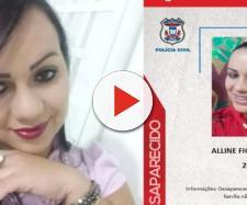 Polícia que investigou o caso chegou a fazer cartaz em busca de Alline