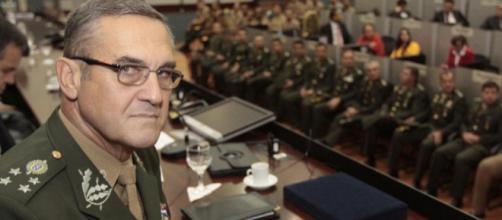 Comandante do Exército brasileiro, General Eduardo Villas Bôas