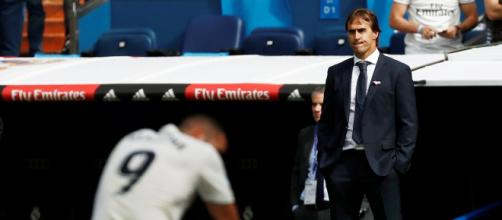 Julen Lopetegui remains positive despite disappointing start to season (Image via Real MadridFC/Youtube) )