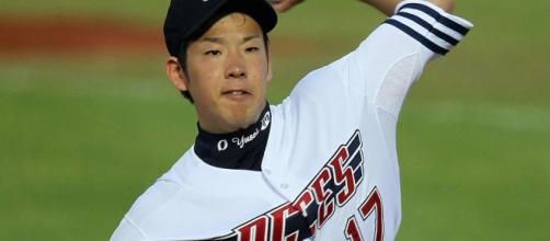 The Chicago Cubs could be in on the next great Japanese ace, Yusei Kikuchi. [image source: nbcsports.com/YouTube]
