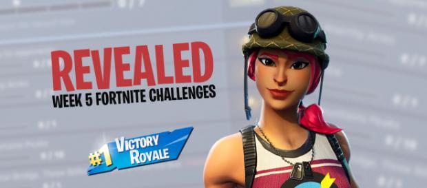 Fortnite Season 6, week 5 challenges have been revealed. Image Credit: Own work