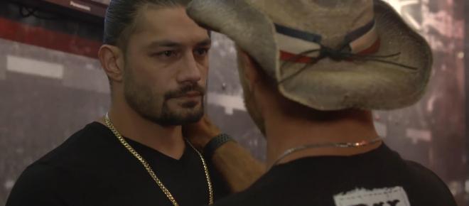 WWE Superstar Roman Reigns talks to the fans about his leukaemia battle