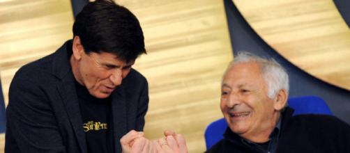 Gianni Morandi insieme a Mogol - gds.it