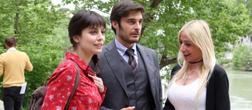 I due protagonisti della fiction L'Allieva.