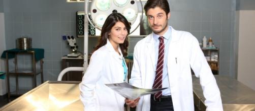 I protagonisti della serie televisiva 'L'Allieva'.