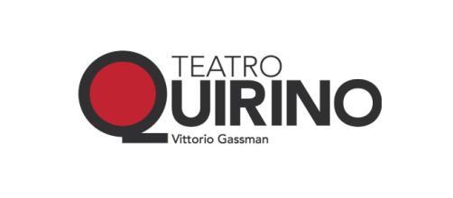 Il logo dello storico teatro Quirino