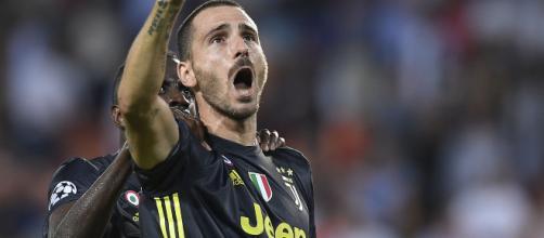 Juventus, la gioia di Bonucci e CR7