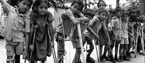 La poliomyélite reste encore endémique dans certains pays