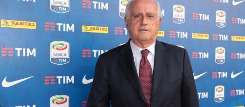 L'ex commissario Figc Fabbricini.
