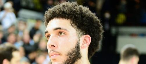 LiAngelo Ball was the finals MVP in the JBA finals. [image source: Graham Hodges- Wikimedia Commons]