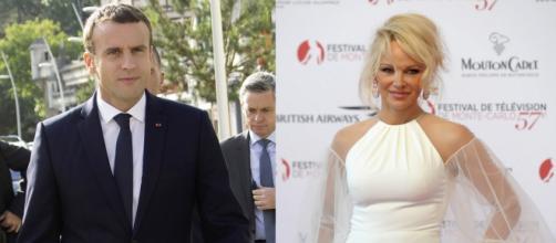Macron alerté par Pamela Anderson sur la cause animale