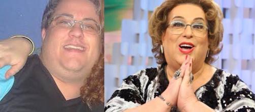 Mamma Bruschetta é interpretada por Luís Henrique Benincasa. (foto reprodução).