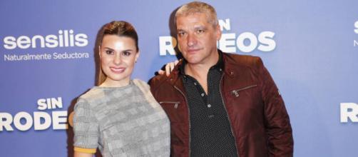 María Lapiedra y Gustavo Gónzalez en un estreno