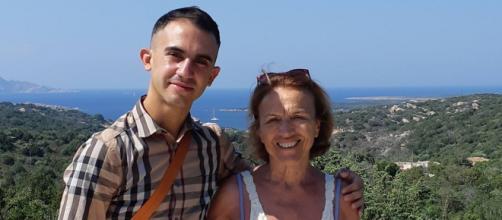Nanni Deiana e l'ex ministro, Elsa Fornero - Fonte: Nanni Deiana
