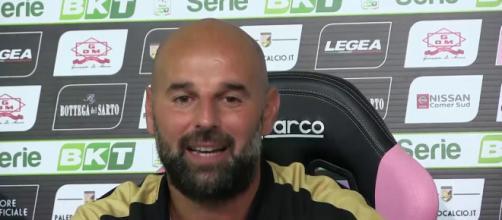 Roberto Stellone, allenatore del Palermo