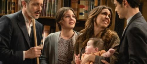 Spoiler, Il Segreto: Alfonso e Emilia incinta lasciano Puente Viejo grazie all'aiuto di Fè