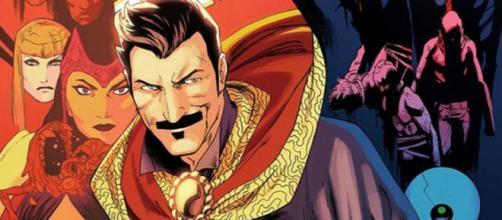 Stephen Strange é o personagem mais famoso a utilizar o manto de Mago Supremo.