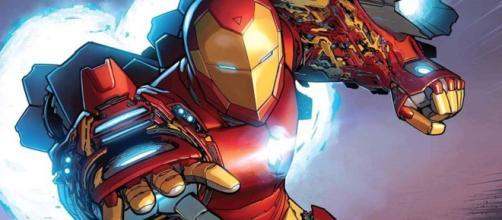 Tony Stark em Invencível Homem de Ferro. (foto reprodução).