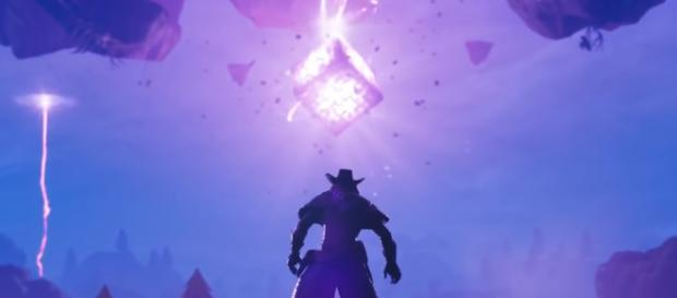 Darkness takes over in the new Fortnite update. [image source: Fortnite/ YouTube]
