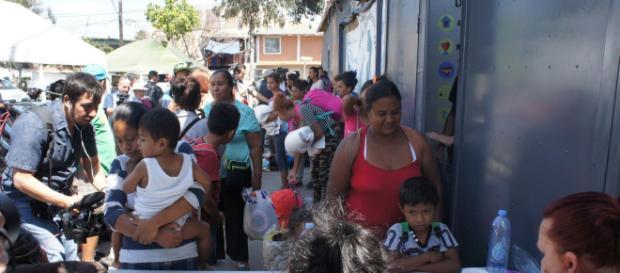 La Caravana Migrante llegó a Chiapas pero su viaje apenas comienza. - sandiegouniontribune.com