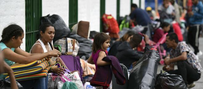 Puente humanitario apoyará éxodo de inmigrantes centroamericanos