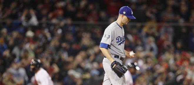 Dodgers juegan mala defensiva para perder el primero de la Serie Mundial 2018 en Boston