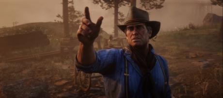 'Red Dead Redemption 2' will have two discs for players to install and play the game [Image credit: Rockstar Games/YouTube screencap]