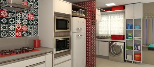 Cobogó são elementos vazados, feitos de cimento, que completam paredes e muros para possibilitar maior ventilação.