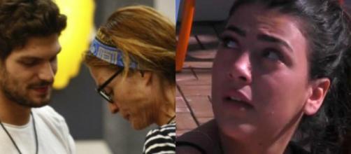 Gf Vip: Giulia ha paura di essere illusa da Monte, Jane starebbe fingendo con Elia