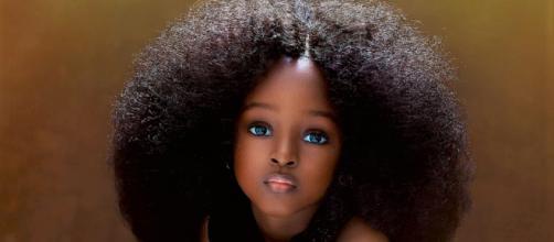 Jare Ijalana é conhecida como uma das crianças mais lindas do mundo