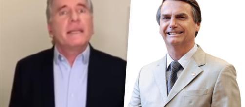 Justus apoia Bolsonaro e internautas se dividem nas redes sociais