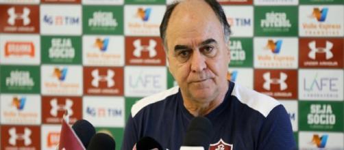 Marcelo Oliveira fala sobre Sul-Americana e Brasileirão após tropeço contra o Nacional (Foto: Lucas Merçon)