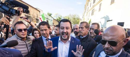 Morte Desirée, Salvini a San Lorenzo tra applausi e fischi ... - mediaset.it