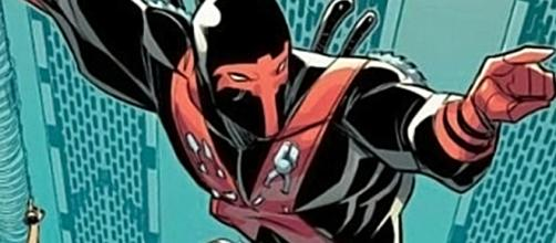 Red Tool, uma cópia do Deadpool, que por sua vez é uma cópia do Exterminador. (foto reprodução)