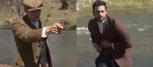 Spoiler, Il Segreto: Prudencio fredda Saul con una pistola, Fernando contrario